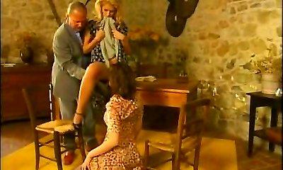 Anal threesome Angelica Naughty, Jane Darling