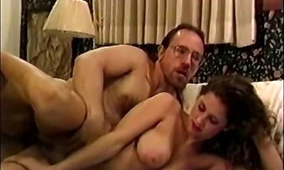 Curly Hair Babe fucked by Ed Powers