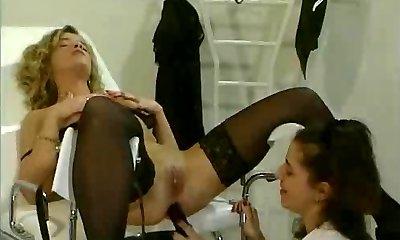 antique lesbian toying