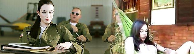 Stoya & Mick Blue  in Top Guns, Episode Two