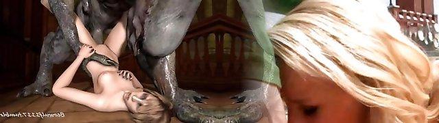 Three Dimensional Devil fuck remix: Cradit Beowolf1117