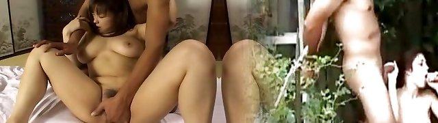 Exotic Japanese slut An Takahashi in Astounding Wife JAV video