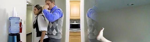 office slut plumb in the toilet