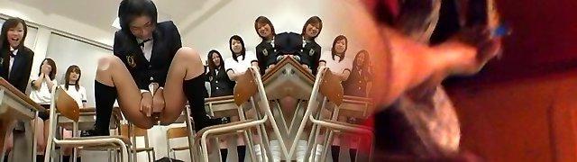 Hottest Japanese tart in Fabulous Group Hookup, Hairy JAV video