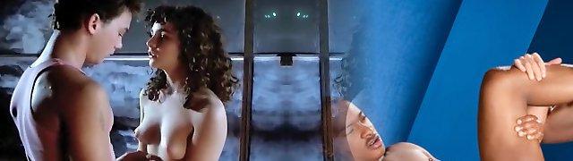 Exotic inexperienced Celebrities, Teens porn video