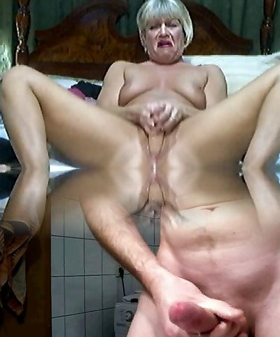 Hot Blonde Mature on cam 2