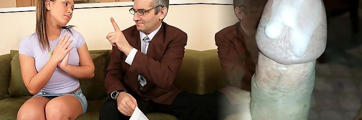 TrickyOldTeacher - Sexy student is frigged and pulverized by older mature educator good