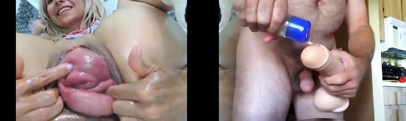 My Blonde Mommy Cougar Anal Fisting - CamGoogle,com
