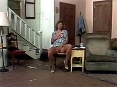 Couple screwing in a house