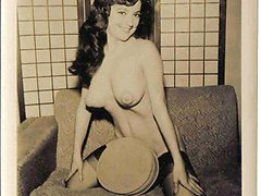 Busty vintage girls naked