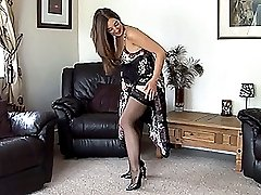 Miss Pussy is once again in her elegant attire and looking so innocent until she lifts her...