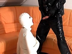 perverted pee games in white rubber
