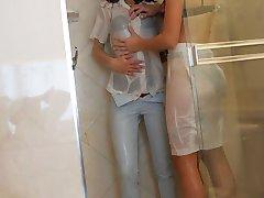 Wet horny girls