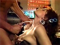 Chick banged by four guys