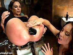 Two amazingly talented and kinky anal sluts come together for the first time in this great update!  Amber Rayne and Kristina Rose fuck and stuff each others butt holes including large butt plugs, strapon, ass speculum, giant dildos, fisting, ass licking and more!