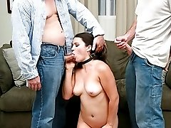 Candy has a thing for big long dicks shoved up her pussy