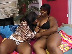 Big assed thick black milf fuck with sex toys and eat wet pussy