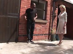 TROPHY WIFE AND BLACK TOSSER WITH ERECTION PROBLEMS
