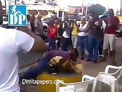 Couple having sex in broad daylight in Africa