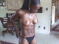 Hot fit Black Girl