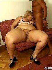 Blonde BBW in hardcore fuck action