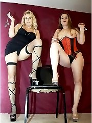 Two mistress strapon pics