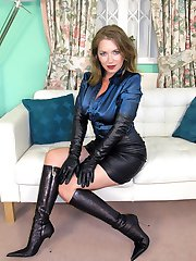 Lady Leather & Satin