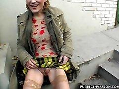 Crazy Sara loves public sex