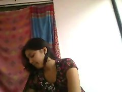 Super cute and horny desi indian girlfriend