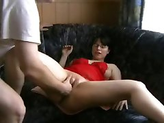 Hot amateur couple having fisting fun