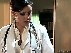 Sexy Doctor Fucks Patient