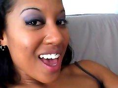 Petite Asian Babe Fucked By Ebony Babe - Shock Wave