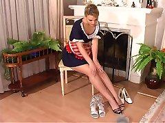 Hot Maid Footjob
