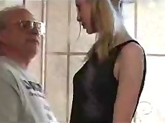 Cute Pigtail Teen seduced by Old Man