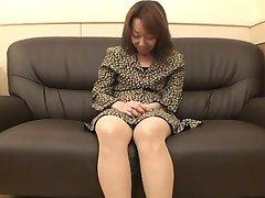 47yr old Hairy Kiyoko Tachibana gets Creamed (Uncensored)