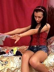 Sexy teen Sasha gets fucked