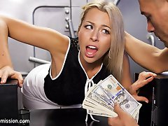 When a beautiful but mischievous bank teller tries to short Xander Corvus on a deposit, she is...