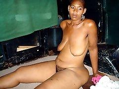 Hot black moms does it