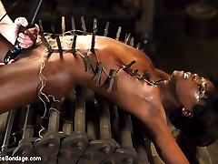 We start with Ana struggling to escape leather straps. She fights against the straps and uses...