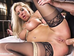 When big tit blonde Lexi Lowe is taken hostage by Bill Bailey, she finds herself submitting her...