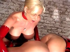 Lesbians in latex and rubber videos