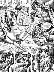 Cruel BDSM comics - Hilda 2