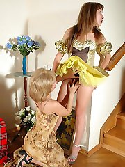 Sex-frenzied oldie gets it on with cute Cinderella