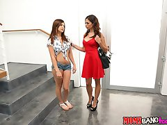 Watch momsbangteens scene give and take featuring leah gotti browse free pics of leah gotti from...