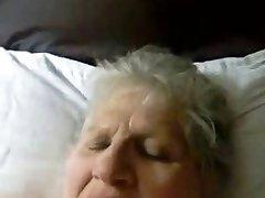 My old fat mom having fun. Stolen video