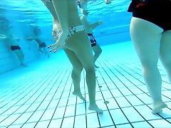 some girls at pool