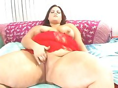 Big and bouncy Trista