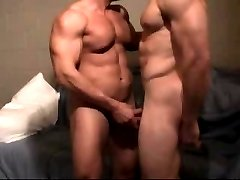 Muscle Bodied Lovers Fucking very Hard & cumming after their workout!