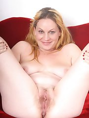 Nasty lady Jessica does a sensual striptease and displays her hairy pussy in this hot solo