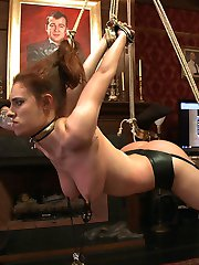 House slave grace has been wrestling on Ultimate Surrender and The House is concerned she may be...